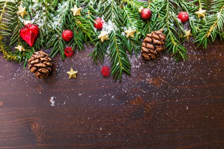 negative-space-brown-pine-christmas-decor-Custom
