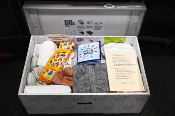 baby box picture credit Scottish government