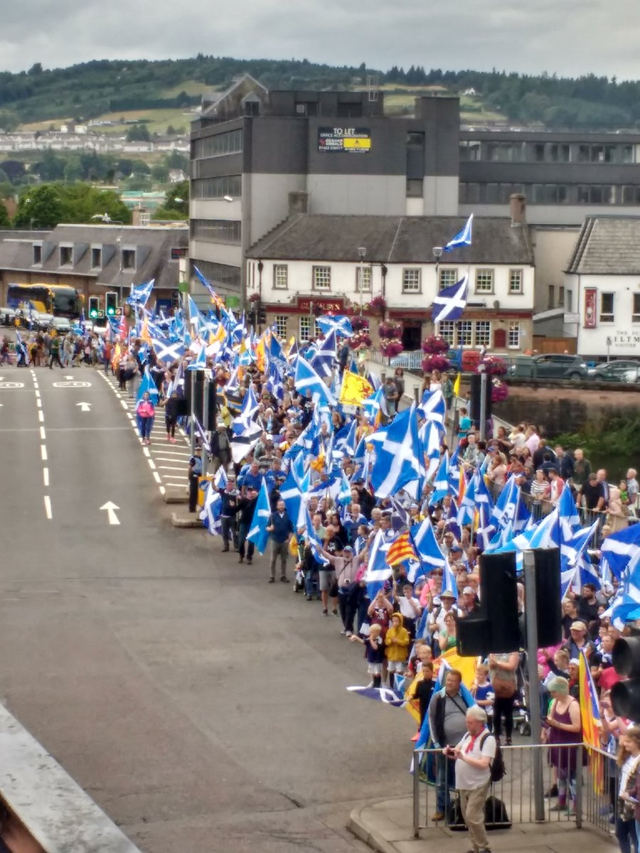 Inverness march July 2018